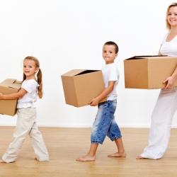 Cómo explicar un cambio de casa y ciudad a los niños