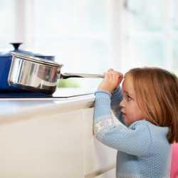 Seguridad para los niños en el hogar