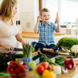 Embarazada vegetariana. ¿Es seguro?