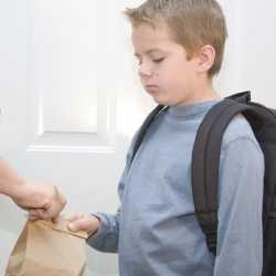 El niño no quiere ir al colegio