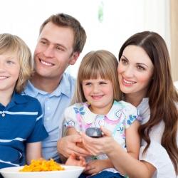 Enseñar a los niños a ver la televisión
