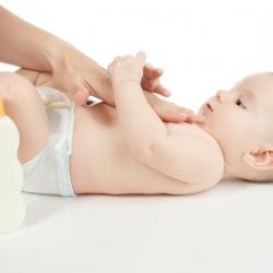 Cuidados en la piel del bebé de más de tres meses