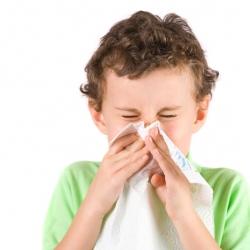 Bebés y niños con catarro o resfriado