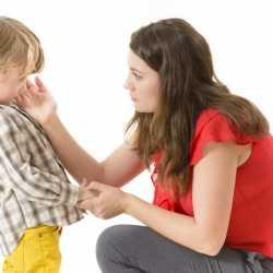 Enseñar a los hijos a pedir perdón
