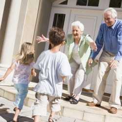 Sentimientos que los abuelos despiertan en sus nietos