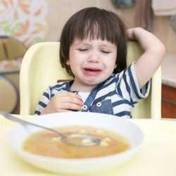 ¿Qué hacer cuando el niño no quiere comer?
