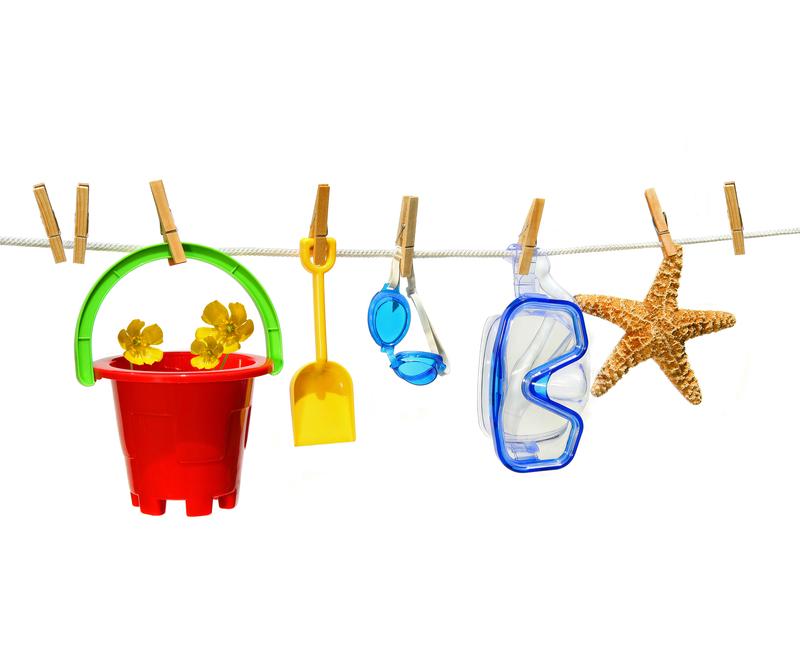 ¿Cuáles son los juguetes más indicados para el verano?