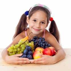 Alimentación para los niños durante el otoño