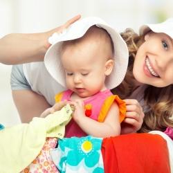 Elección y cuidado de la ropa del bebé