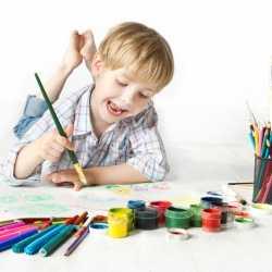 La pintura infantil y los niños