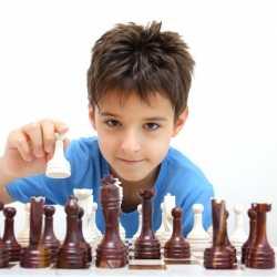 El juego de ajedrez y los niños