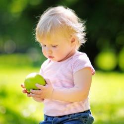 Alimentación para los niños durante la primavera