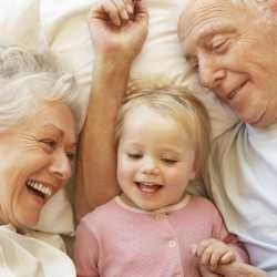 La relación de los niños con los abuelos