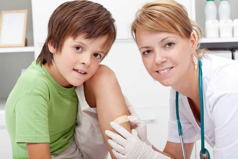¿Cómo curar una herida a niños?