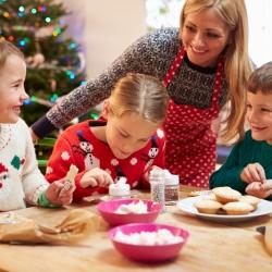Decoración Navideña: preparar una bonita fiesta de Navidad con tus hijos