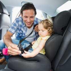 Protege a tu hijo: usa el cinturón de seguridad también en trayectos cortos