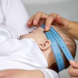 El perímetro craneal del bebé y sus medidas