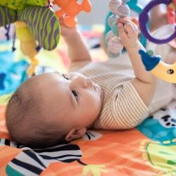 La estimulación visual en los bebés y niños