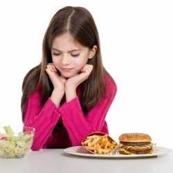 Alimentación para niños: la buena y la mala.