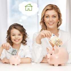 Educar a los niños a manejar y ahorrar el dinero