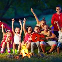 Campamentos en inglés para los niños