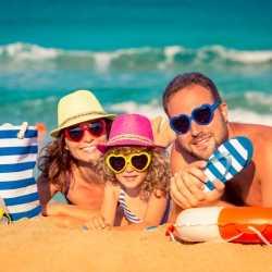 Beneficios de las gafas de sol para niños