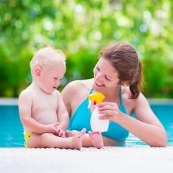 Protección solar: medidas protectoras para bebés