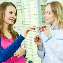 El cuidado de la vista durante el embarazo
