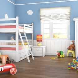 Decoración: bebé y hermanito en una sola habitación