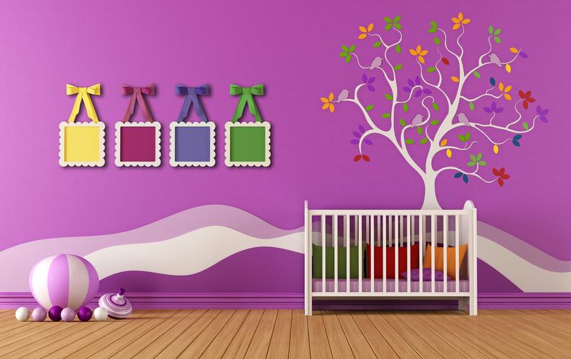 Accesorios decorativos en la habitación de tu bebé