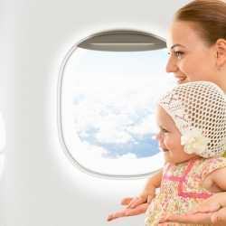 ¿Cuándo podré llevar a mi bebé en avión?