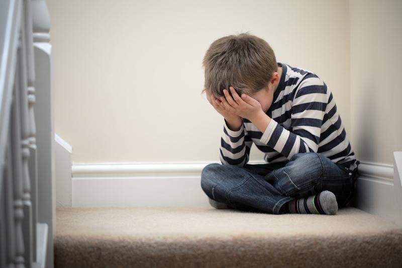 La depresión empieza en la infancia