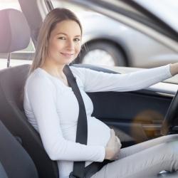 El cinturón de seguridad en el embarazo
