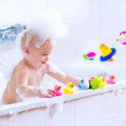 Juegos para el baño del bebé