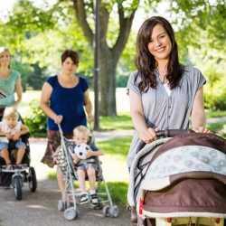 El paseo del bebé: ¿cuándo empezar a sacarle en su cochecito?